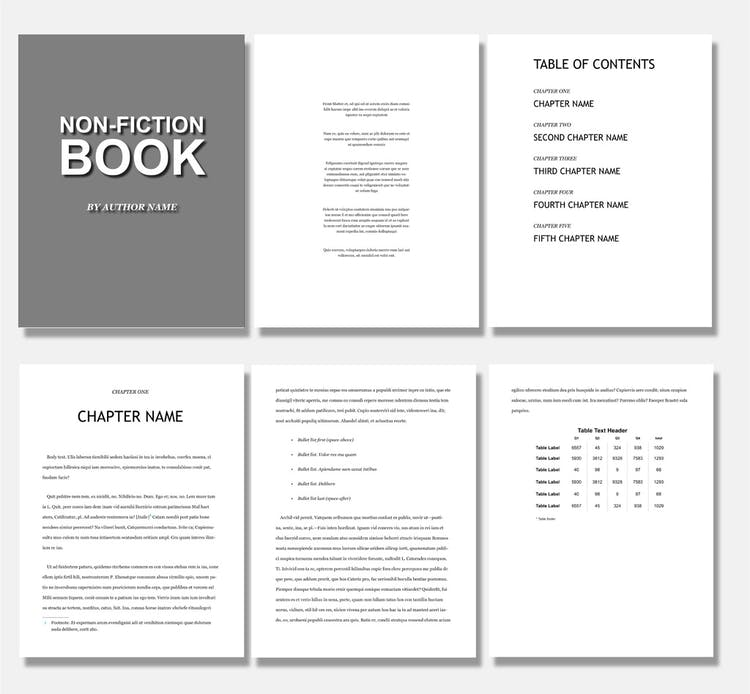 Book layout & cover